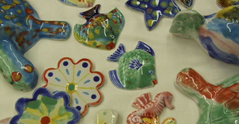 Pottery painting course