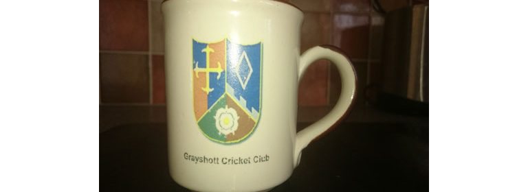 Grayshott Cricket Club mug